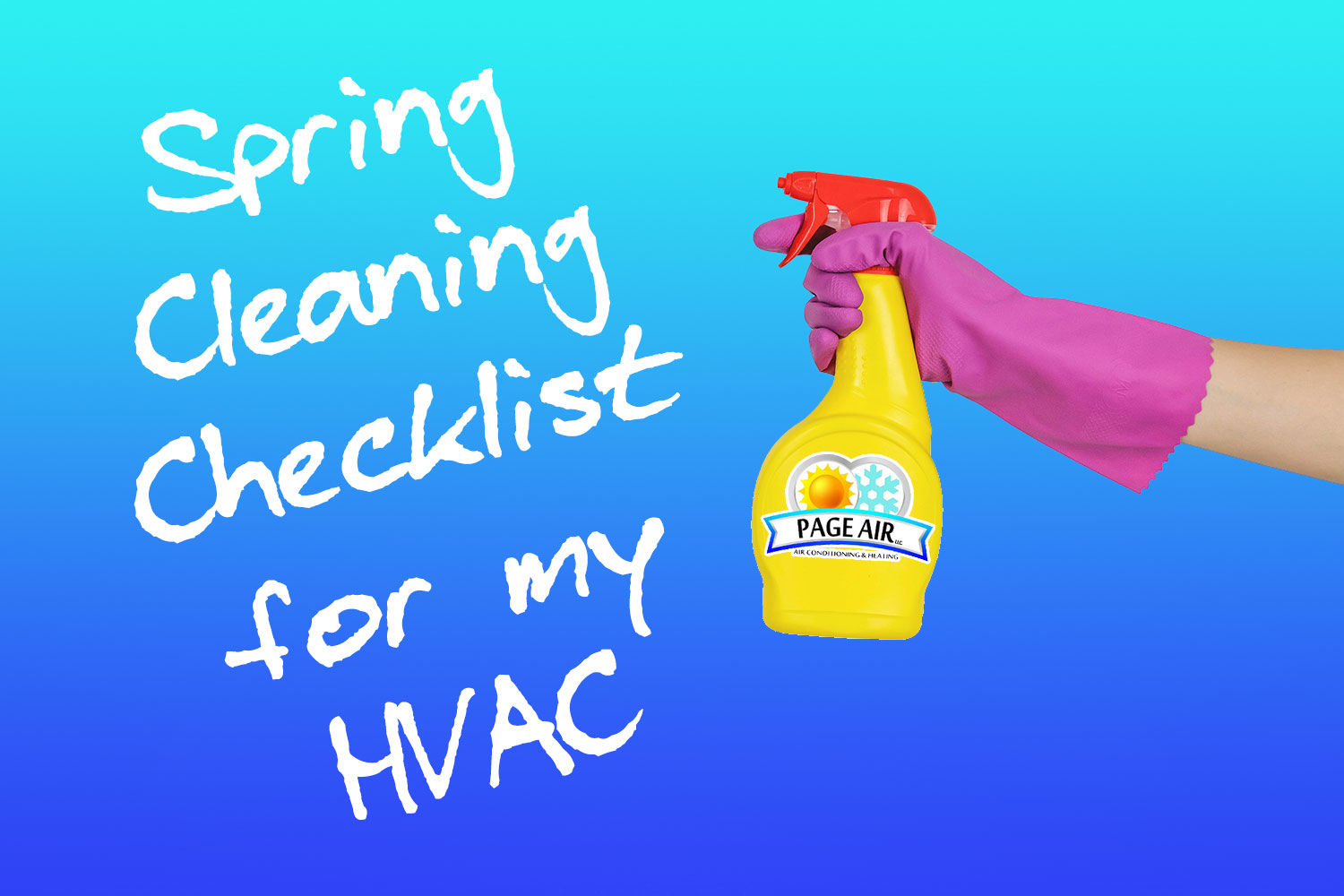 Spring Cleaning Checklist for my HVAC